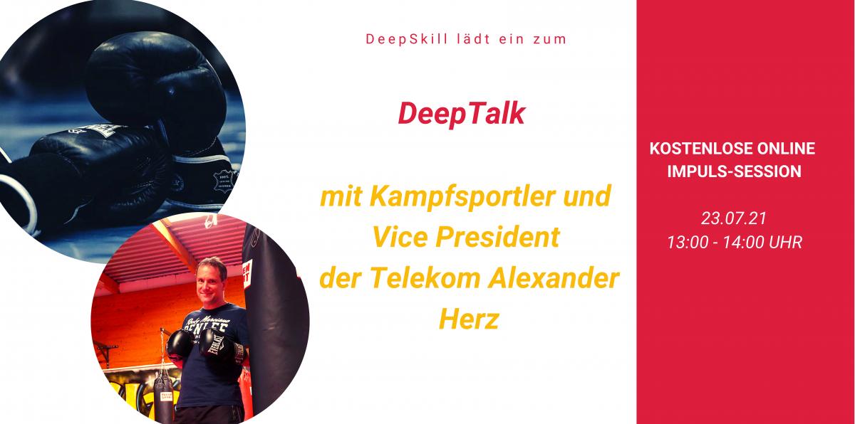 DeepTalk-Kampfsport Webseite